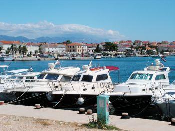 Novalja - přístaviště