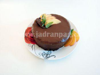 bezlepkový amarantový dort